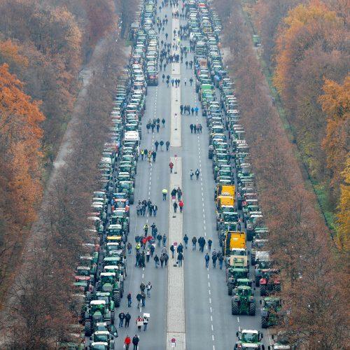 Ūkininkų protestas Berlyne