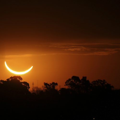 Visiškas Saulės užtemimas Pietų Amerikoje