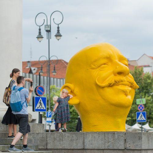 """M. Gaubo paroda """"Rembo. Auksinė amžiaus krizė: maža nepasirodys"""" Vilniuje"""