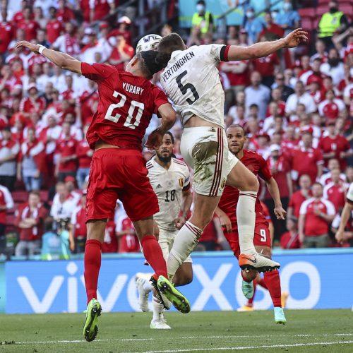 Europos futbolo čempionatas: Belgija–Danija 2:1  © Scanpix nuotr.