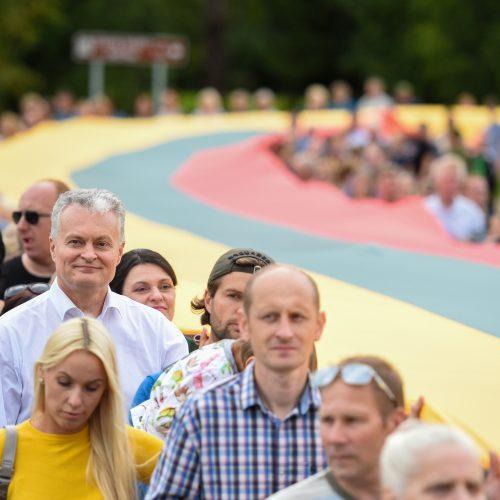 G. Nausėda Joniškėlio respublikos šimtmečio šventėje  © R. Dačkaus / LRP kanceliarijos nuotr.