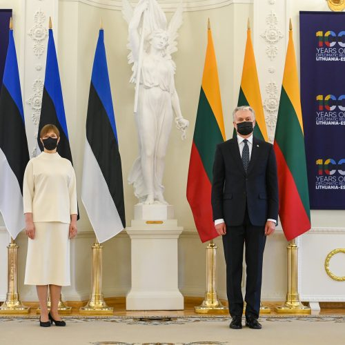 Lietuvos ir Estijos prezidentų susitikimas