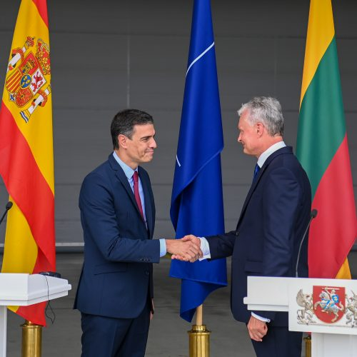 Lietuvos prezidentas susitiko su Ispanijos premjeru