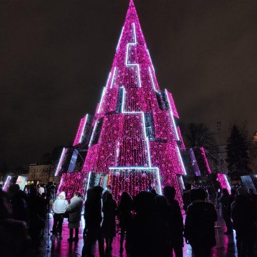 2020 m. Vilniaus Kalėdų eglės įžiebimas