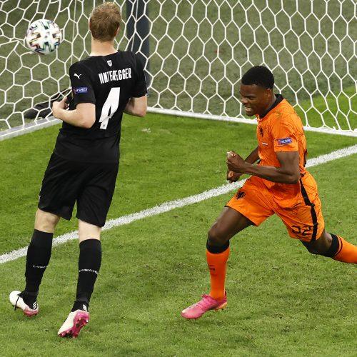 Europos futbolo čempionatas: Nyderlandai–Austrija 2:0  © Scanpix nuotr.