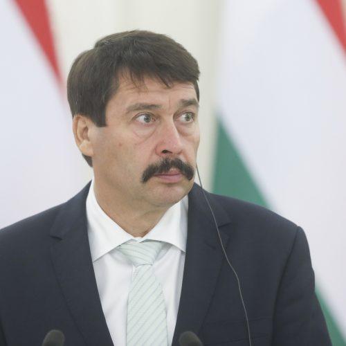 Vengrijos prezidento vizitas Lietuvoje  © M. Morkevičiaus / ELTOS nuotr.
