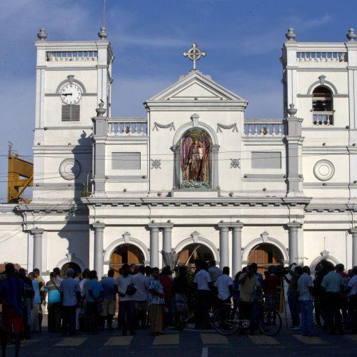 Sprogdinimai Šri Lankoje