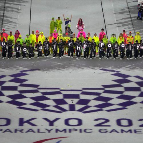 Tokijo paralimpinių žaidynių uždarymo ceremonija
