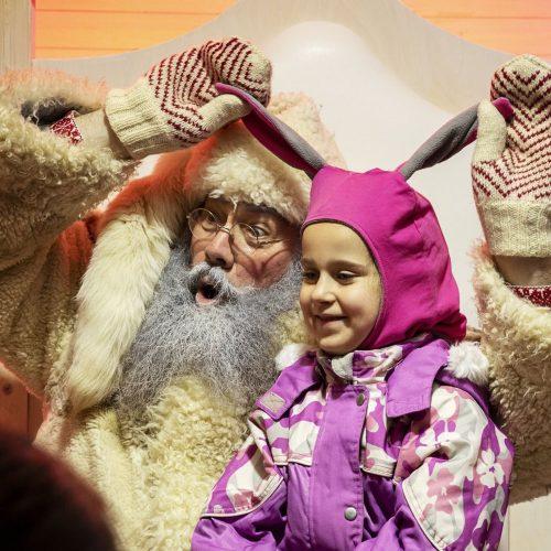 Šiauliuose įžiebta Kalėdų eglė  © V. Sungailės, V. Ramanauskienės, R. Bernotaitės nuotr.