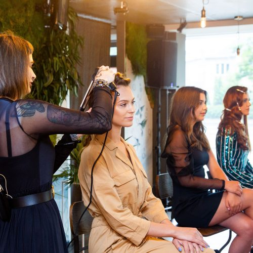 Tobulų plaukų vakarėlis  © I. Gelūno/Fotobanko nuotr.