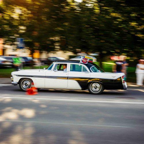 Istorinių automobilių ir motociklų ralis    © I. Gelūno nuotr.