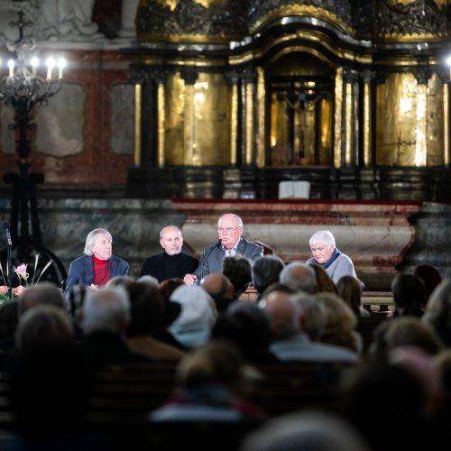 Kino režisieriaus G. Lukšo kūrybos vakaras  © I. Gelūno/Fotobanko nuotr.