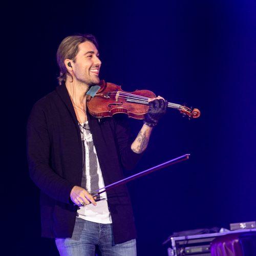 Smuiko virtuozo D. Garreto koncertas  © P.Peleckio/Fotobanko nuotr.