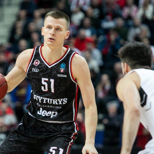 """Europos taurė: Vilniaus """"Rytas"""" –  Belgrado """"Partizan"""" 61:66  © P.Peleckio/Fotobanko nuotr."""