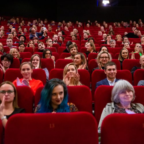 "T. Vidmanto komedijos ""Pats sau milijonierius"" premjera  © G. Skaraitienės/Fotobanko nuotr."