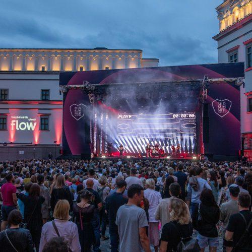 """""""Midsummer Vilnius 2021"""". A. Mamontovas  © I. Gelūno/Fotobanko nuotr."""