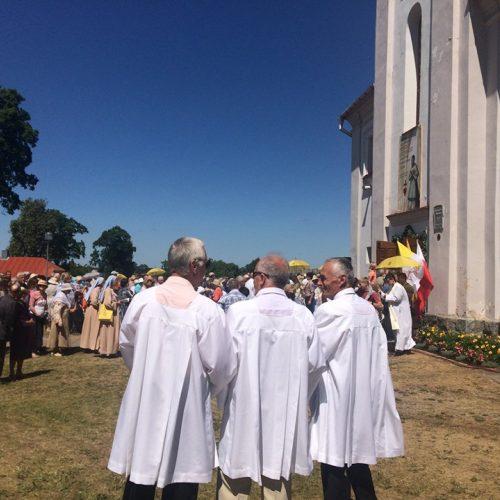 Tikintieji dėkojo už M. Giedraičio pripažinimą palaimintuoju  © Vilniaus arkivyskupijos nuotr.