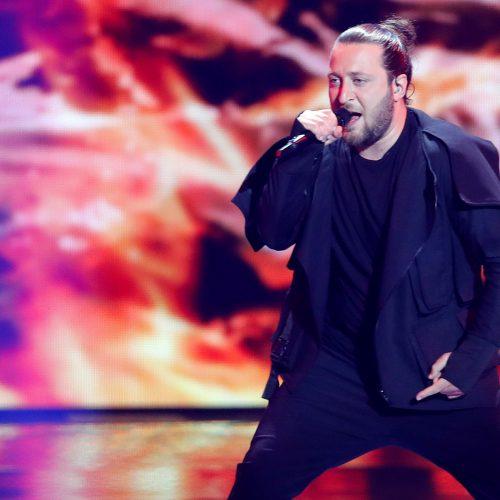 "Pirmasis ""Eurovizijos"" pusfinalis  © AP, AFP, Reuters nuotr."