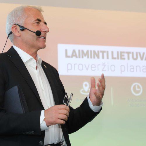 Pristatytas Lietuvos proveržio planas  © D.Labučio/ELTOS nuotr.