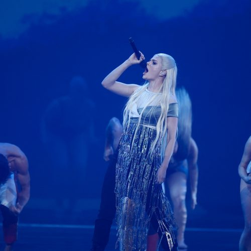 """Pirmasis """"Eurovizijos"""" pusfinalis  © Scanpix ir EPA-ELTOS nuotr."""