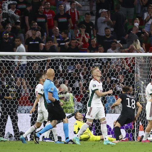 Europos futbolo čempionatas: Vokietija–Vengrija 2:2  © Scanpix nuotr.