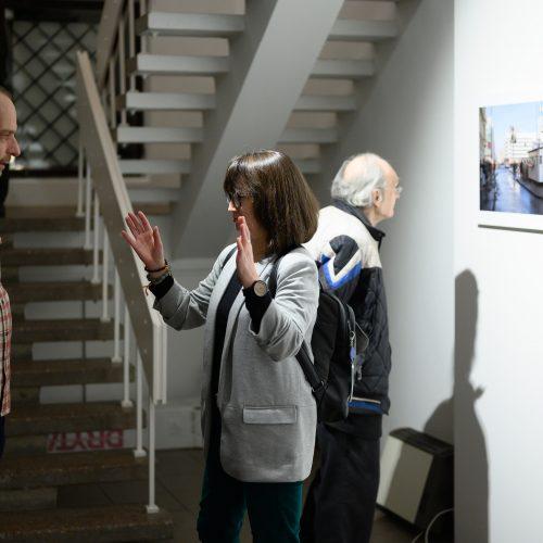 "M. Waltari fotografijų paroda ""Dokumentinis spektaklis""  © G. Skaraitienės/Fotobanko nuotr."