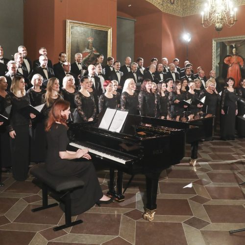 Koncertas P. Bingelio 75-mečiui ir Kauno choro 50-ečiui  © Mariaus Morkevičiaus /ELTOS nuotr.