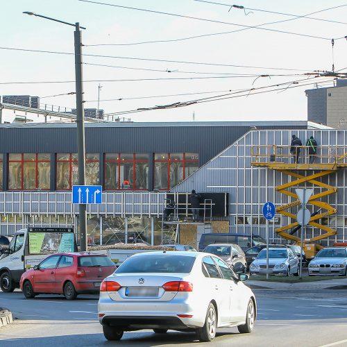 M. Riomerio gatvėje netrukus pradės veikti prekybos centras  © Evaldo Šemioto nuotr.