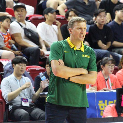 Krepšinis: Lietuva – Pietų Korėja 86:57  © krepsinionamai.lt nuotr.