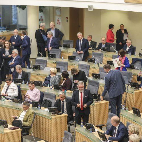 Nenumatytas Seimo valdybos posėdis
