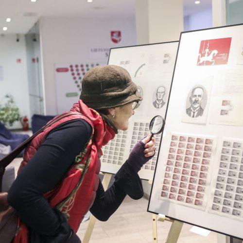 """Paroda """"Vasario 16-osios Akto signatarai pašto ženkluose"""