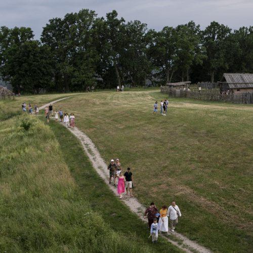 Joninės Kernavėje  © P. Peleckio/Fotobanko nuotr.