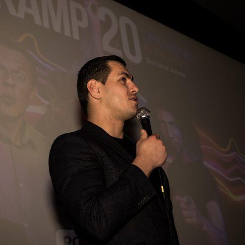 """Skamp"" pristatė trumpametražį filmą  © Patriko Karpicko nuotr."