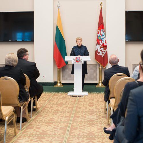 Lietuvos ambasadoriai susirinko Prezidentūroje  © R. Dačkaus / Prezidentūros, V. Skaraičio / BFL nuotr.