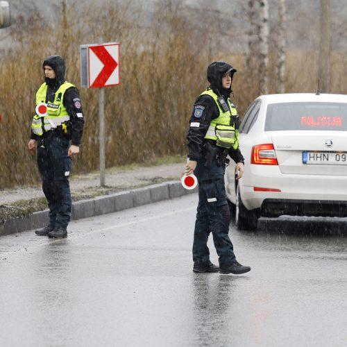 BMW avarija Kairių kelyje