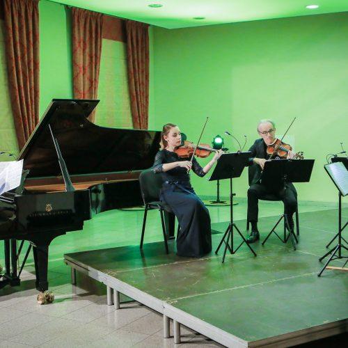 """Koncertas – """"Menų pakylėti""""  © Vytauto Petriko nuotr."""
