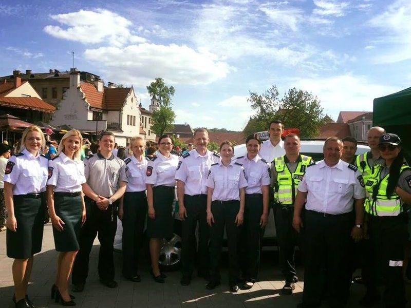 Policija dėkoja švęsti išmokusiems kauniečiams