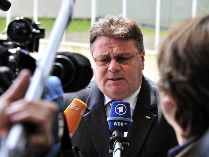 L. Linkevičius su Etiopijos vadovais aptarė globalius saugumo klausimus