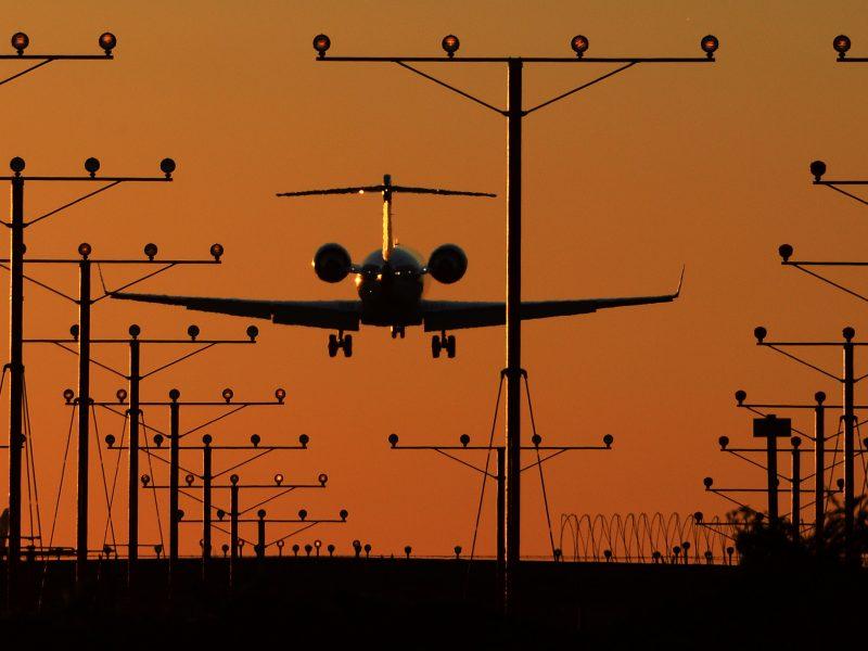 Estijos lėktuvas nusileido Talino oro uoste avariniu režimu