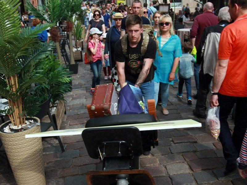 Turizmo gatvė kvietė pažinti Lietuvą