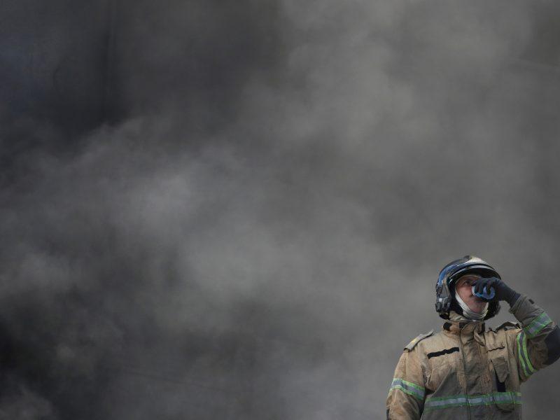 Ukrainos dujų perdirbimo stotyje nugriaudėjus sprogimui žuvo du žmonės