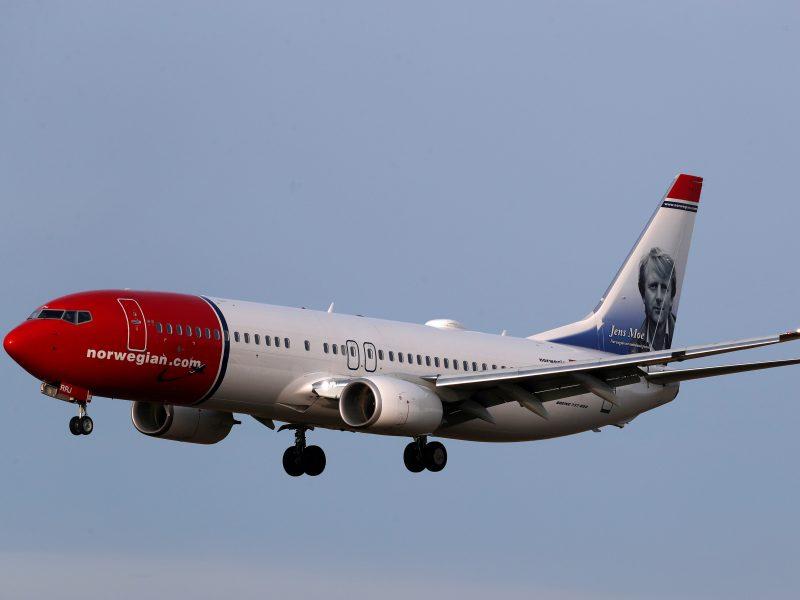 """""""Norwegian Air"""" atsisako ilgojo nuotolio skrydžių"""