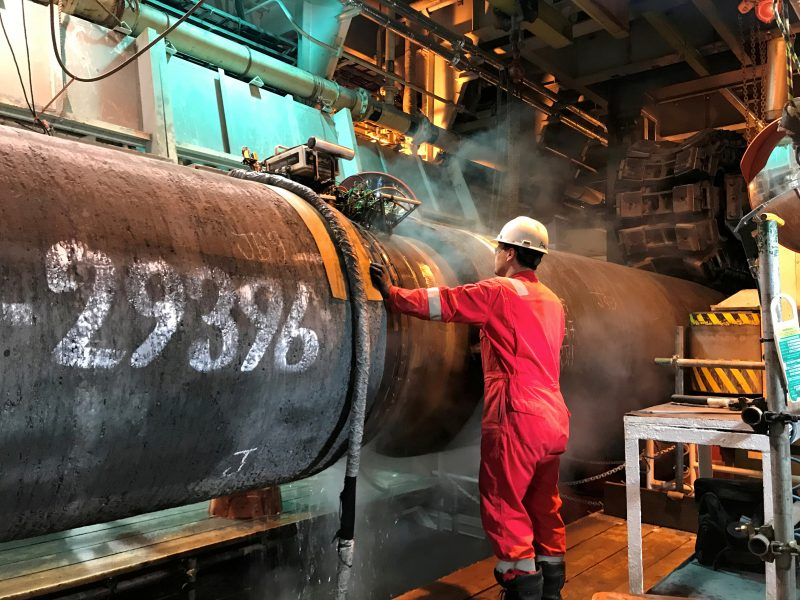 """Kremlius atmeta JAV kritiką dėl """"Nord Stream 2"""" dujotiekio"""