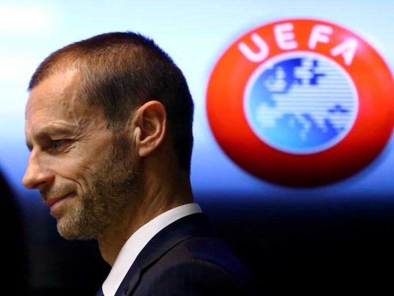 UEFA: Superlygos futbolininkams bus uždrausta atstovauti savo šalims per čempionatus