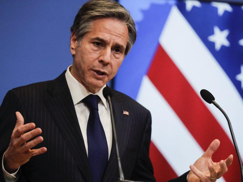 A. Blinkenas: JAV nevers savo sąjungininkų rinktis tarp jų ir Kinijos