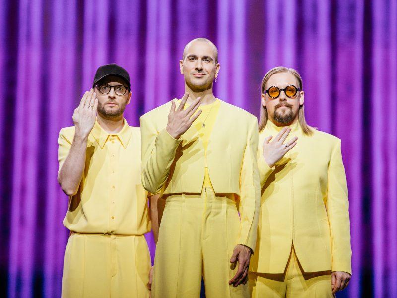 """LRT skelbia iniciatyvą """"Geltona banga"""" – kviečia palaikyti """"The Roop"""" """"Eurovizijos"""" dainų konkurse"""