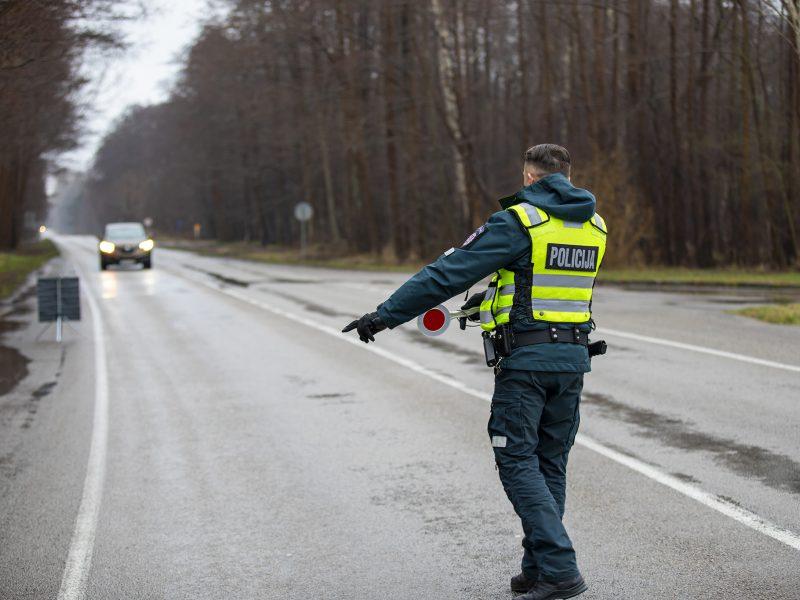 Reidai Klaipėdos apskrityje: Kelių eismo taisykles pažeidinėja ir pėstieji