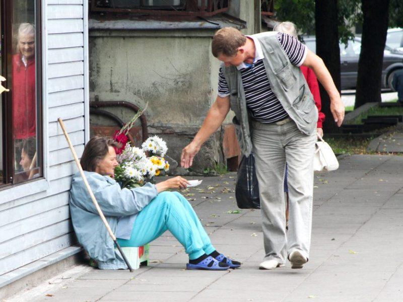 Lietuvoje pablogėjo labiausiai skurstančių žmonių padėtis