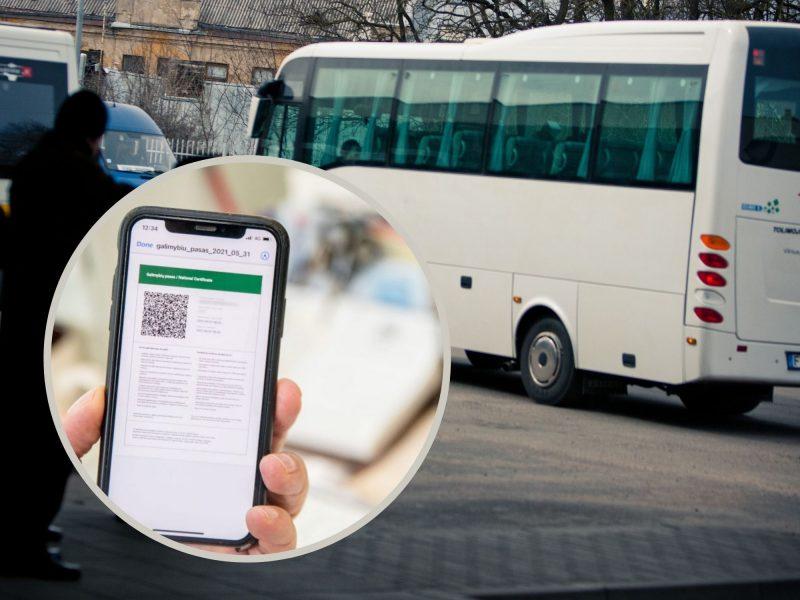 Neturintiems galimybių paso gali uždrausti važinėti autobusais: bijo ir keleiviai, ir vairuotojai