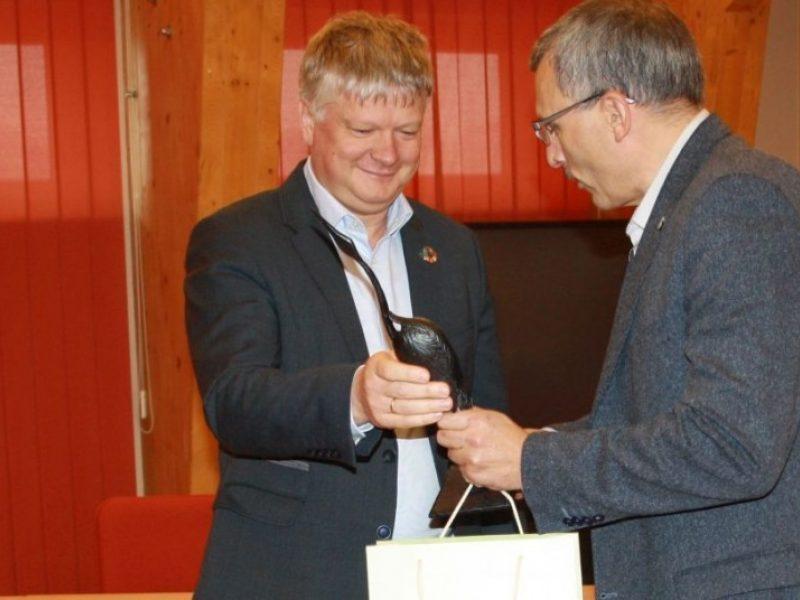 Atleistas K. Navickas atsisveikino su Aplinkos ministerija